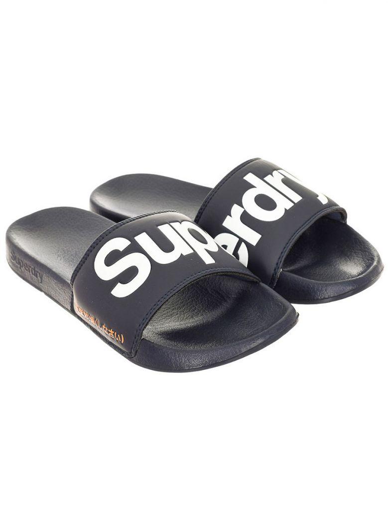 Superdry Lauren Navy Classic Pool Slide