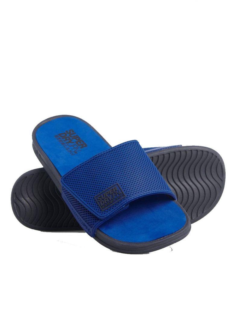 Superdry True Blue Premium Crewe Sliders