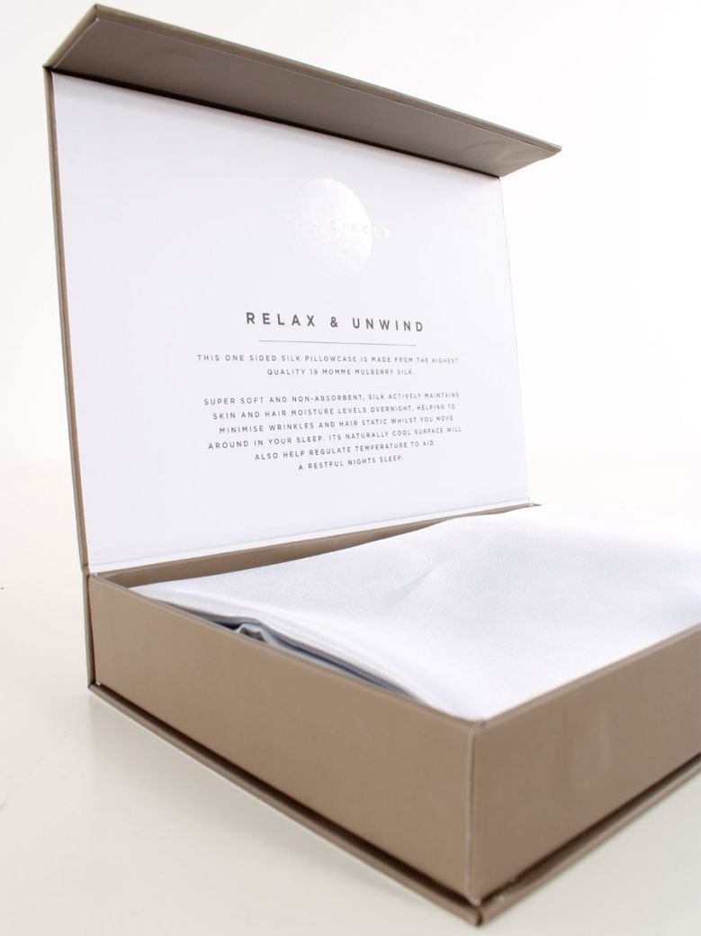 Mulberry Silk Pillowcase Silver