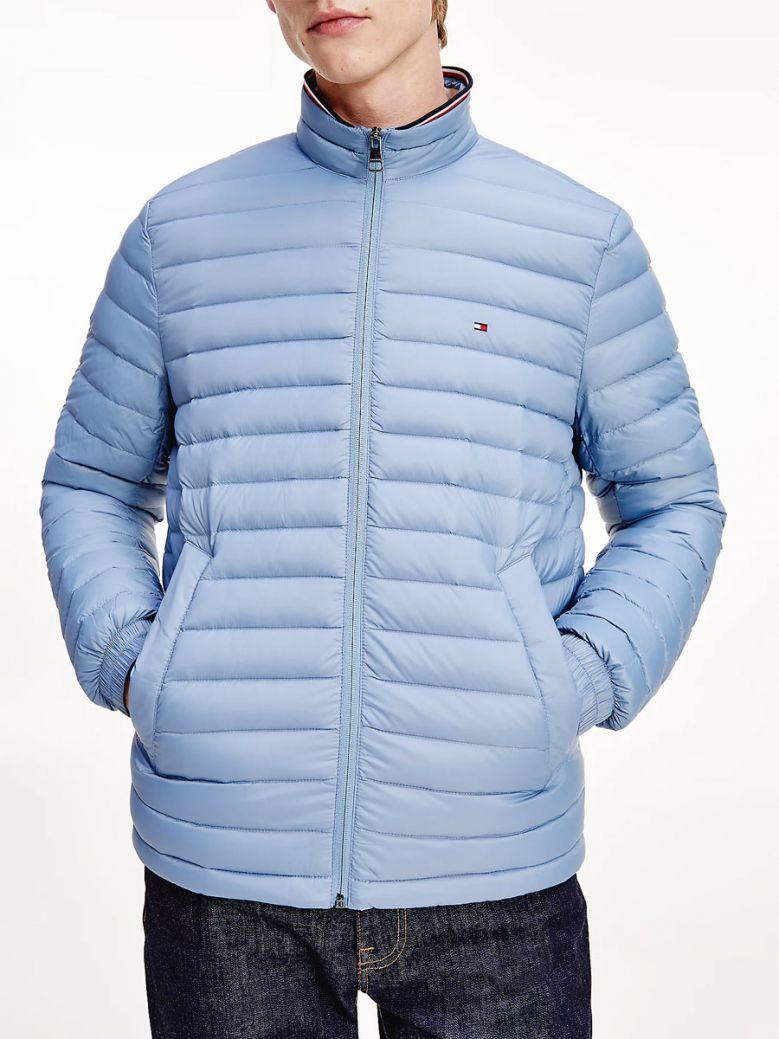 Tommy Hilfiger Mens Colorado Indigo Packable Down Filled Jacket
