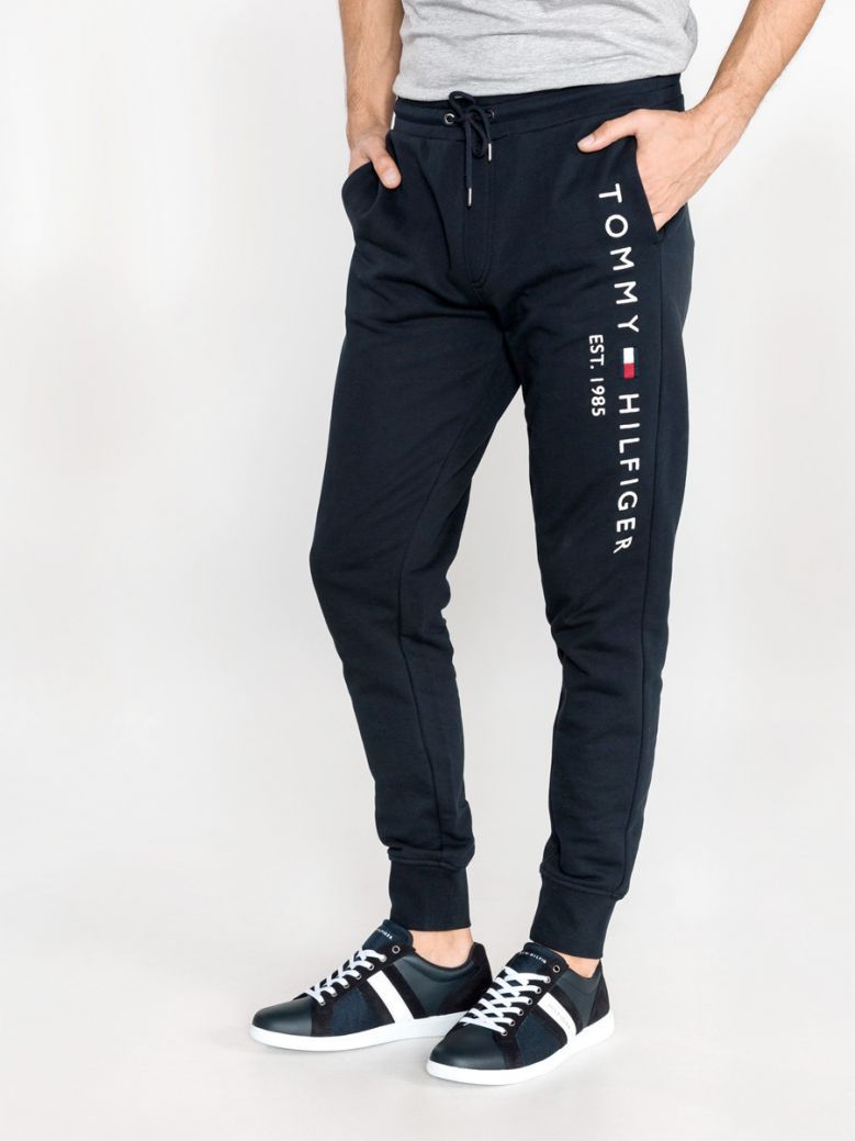 Tommy Hilfiger Mens Desert Sky Embroidery Logo Joggers