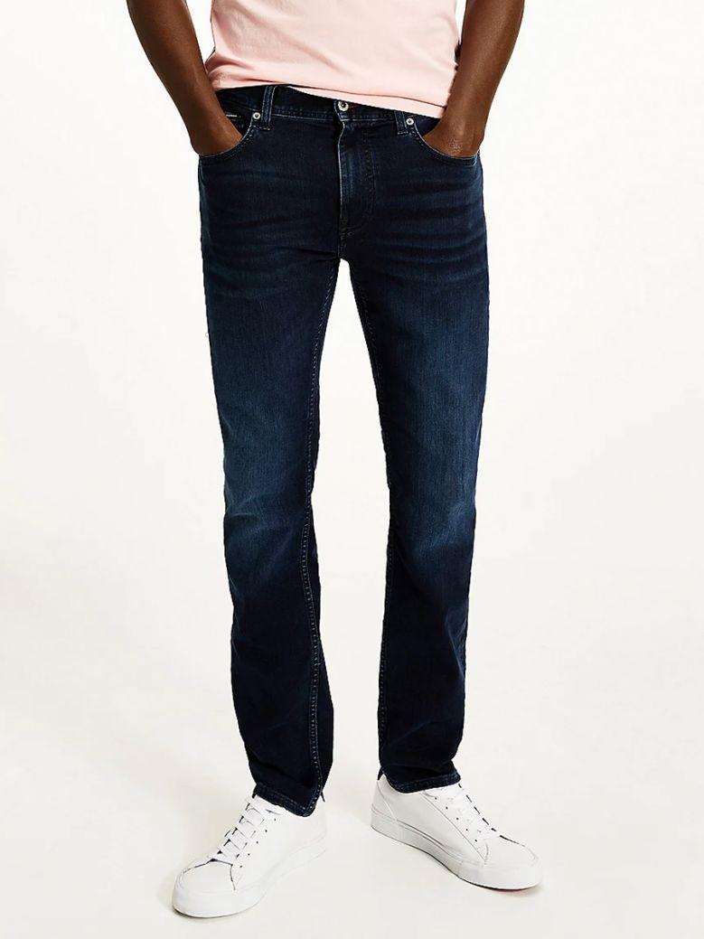 Tommy Hilfiger Iowa Blueblack Bleecker Slim Faded Jeans