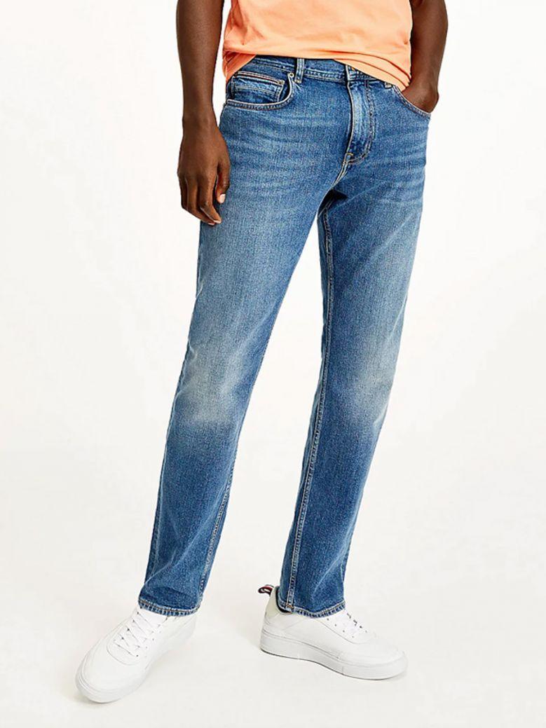 Tommy Hilfiger Boston Indigo Mercer Regular Faded Jeans