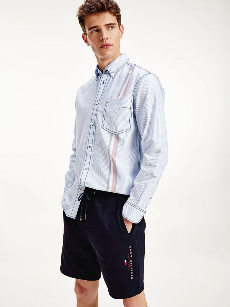 Tommy Hilfiger Men Desert Sky Essential Organic Cotton Sweat Shorts