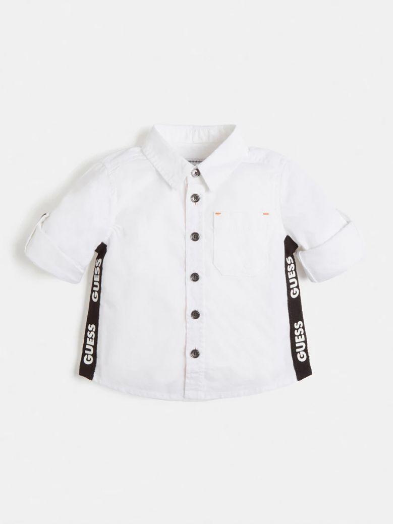 Guess Kids White Side Logo Shirt
