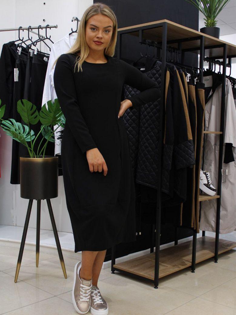 Naya Tulip Shape Dress Black