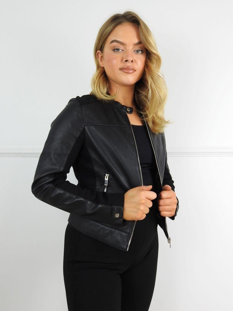 Rino & Pelle Black Lamb Leather Jacket