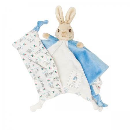 Peter Rabbit Comfort Blanket Blue