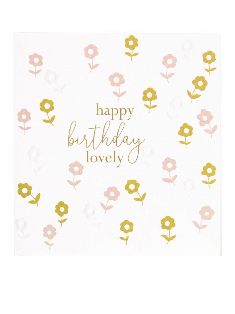 Caroline Garder Happy Birthday Lovely Card