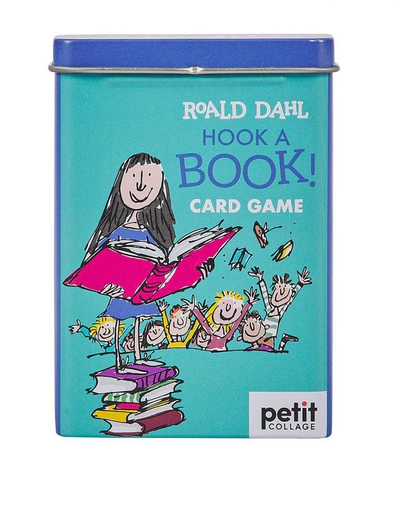 Petit Collage Roald Dahl Matilda Hook-a-Book Card Game