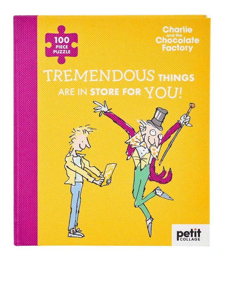 Petit Collage Roald Dahl Charlie & The Chocolate Factory 100-Piece Book Puzzle
