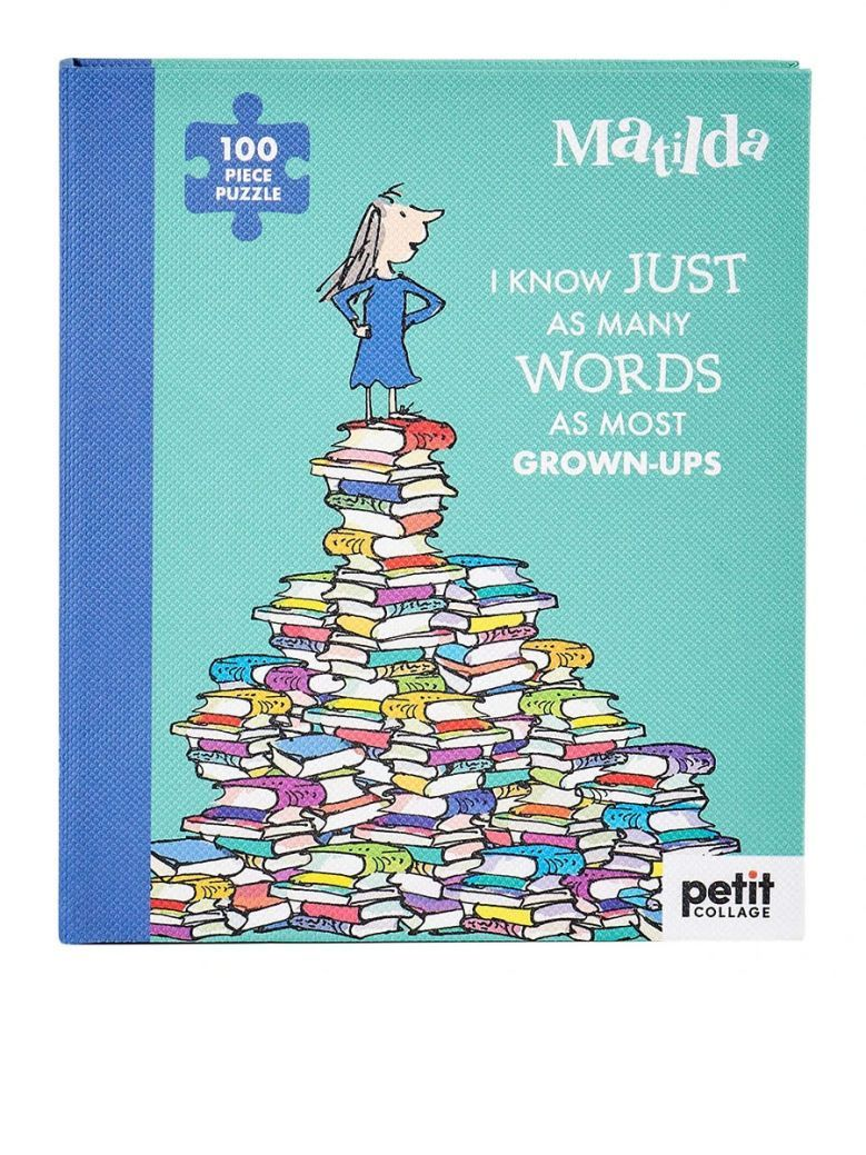Petit Collage Roald Dahl Matilda 100-Piece Book Puzzle