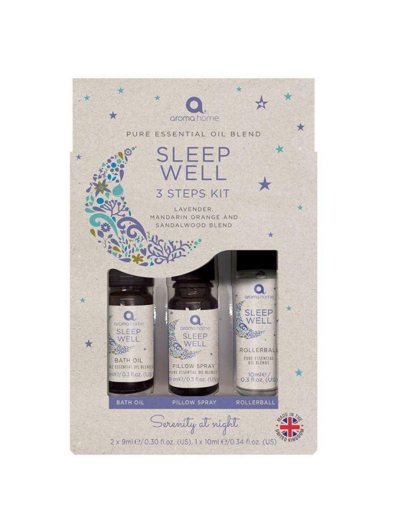 Pure Essential Oils Sleep Well 3 Steps Kit