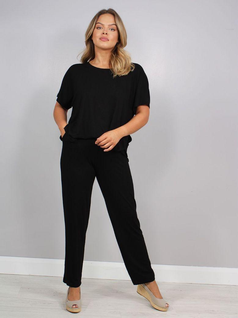 Q'Neel Jumpsuit Black