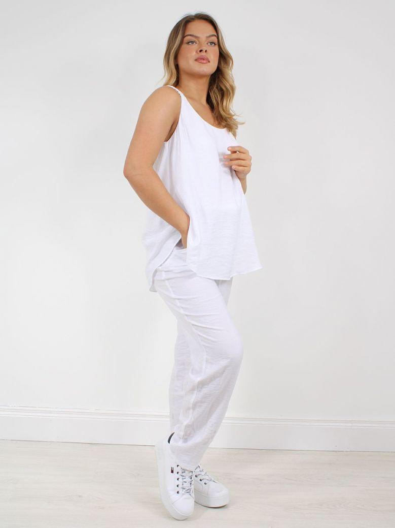 Q'Neel Jumpsuit White