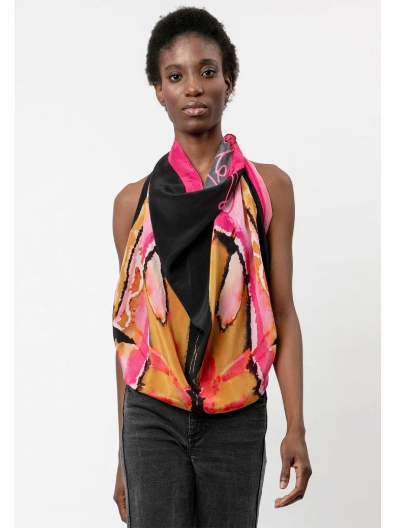 Religion Ascent Scarf Pink