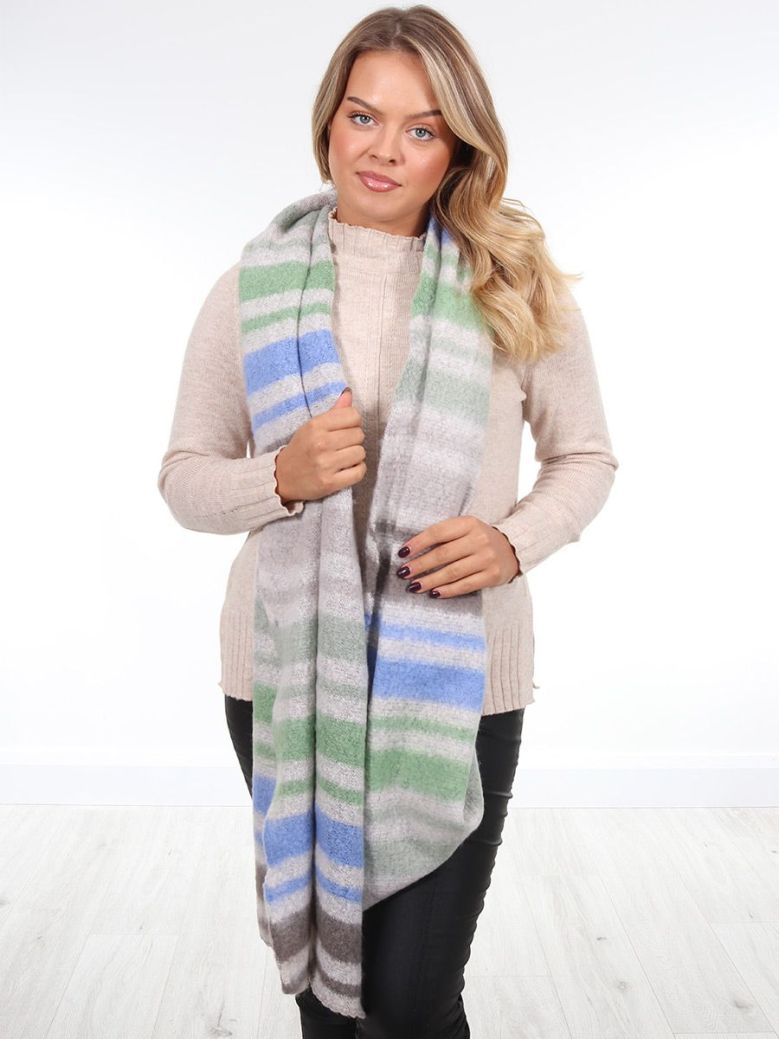 Rino & Pelle Knitted Scarf Multi