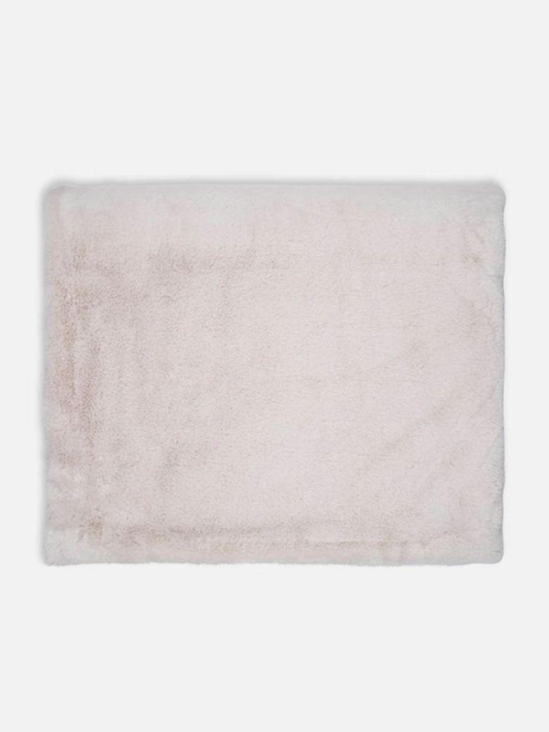 Rino & Pelle Keslin Faux Fur Blanket Birch