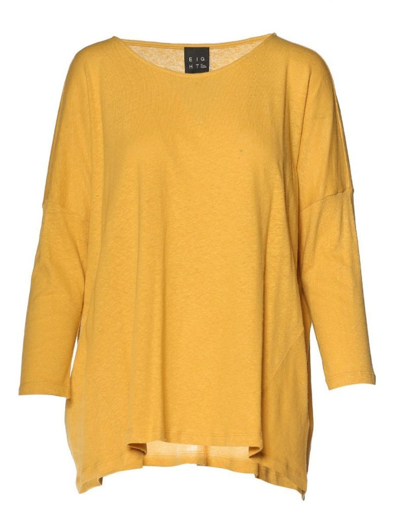 Access Fashion Mustard Relaxed Fit Top