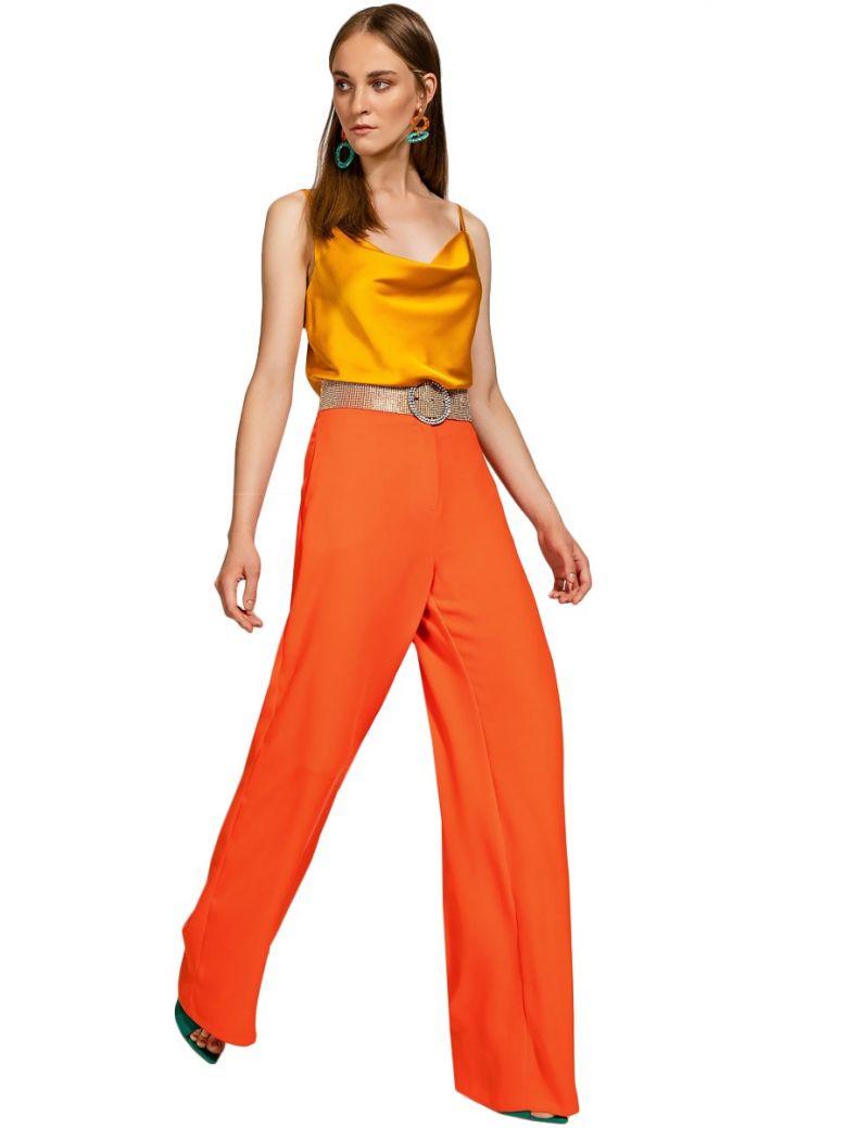 Access Fashion Orange Wide Leg Trousers