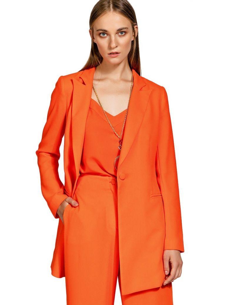 Access Orange Oversized Blazer