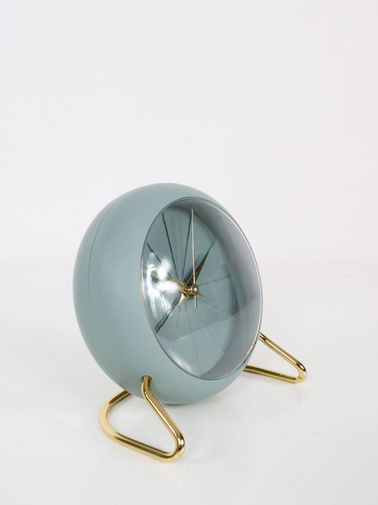 Sage Green and Gold Alarm Clock