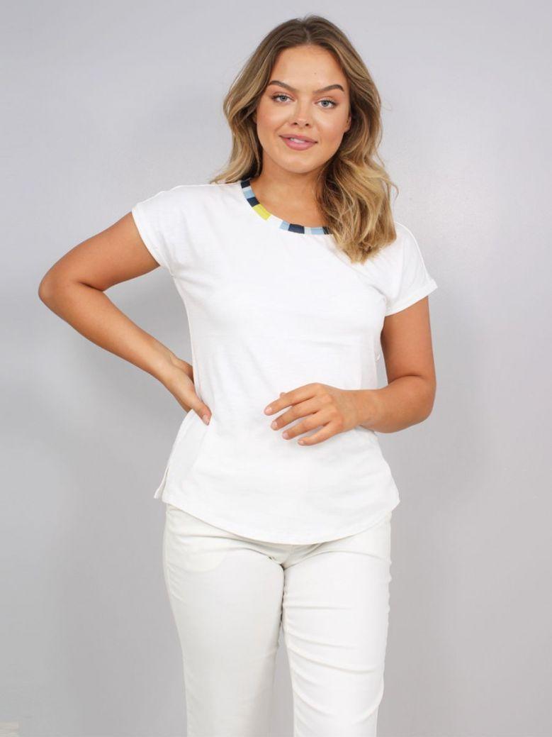 Sandwich Plain T-Shirt White