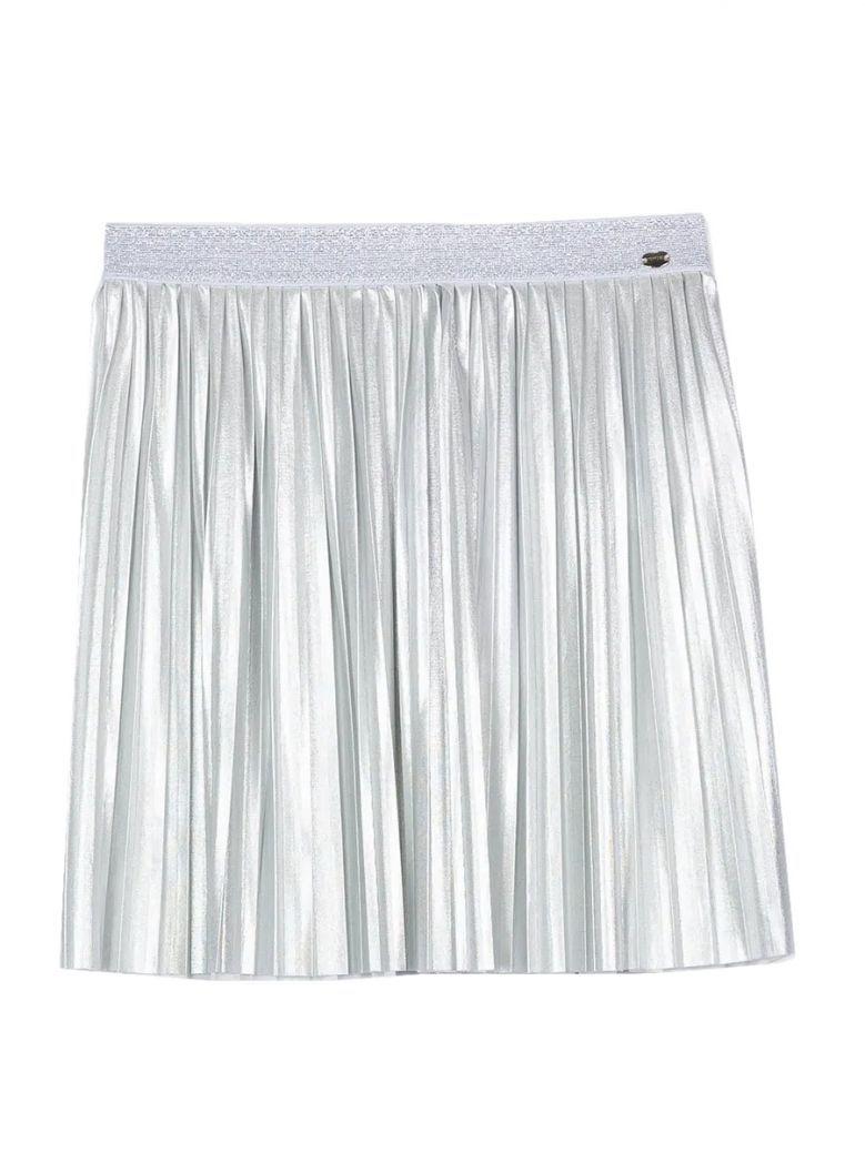 Tiffosi Silver Pleated Skirt