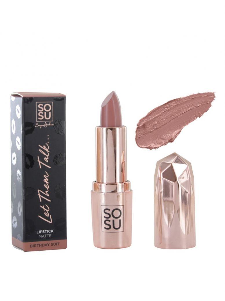 SOSU 'Birthday Suit' Matte Lipstick