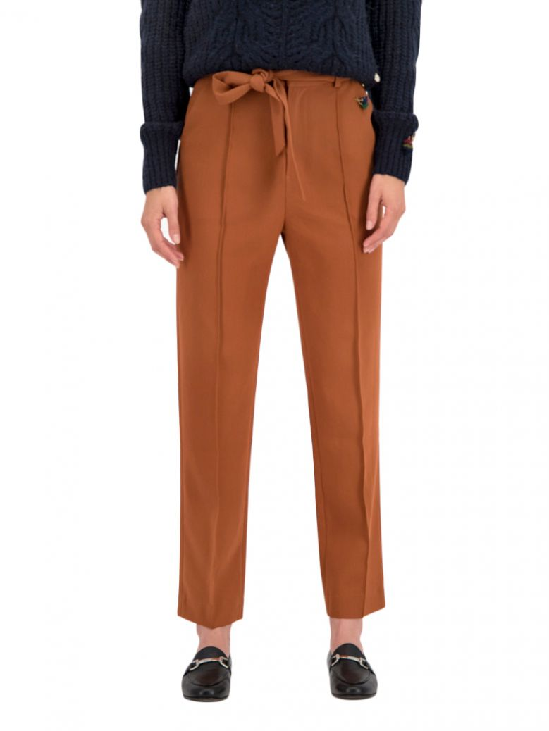 Pom Amsterdam Mysterious Maple High Waisted Trousers