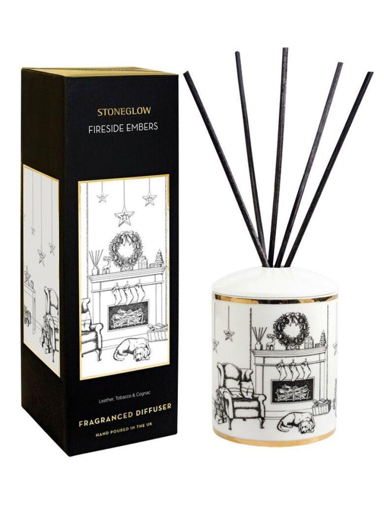 Stoneglow Keepsake Fragranced Diffuser Fireside Embers