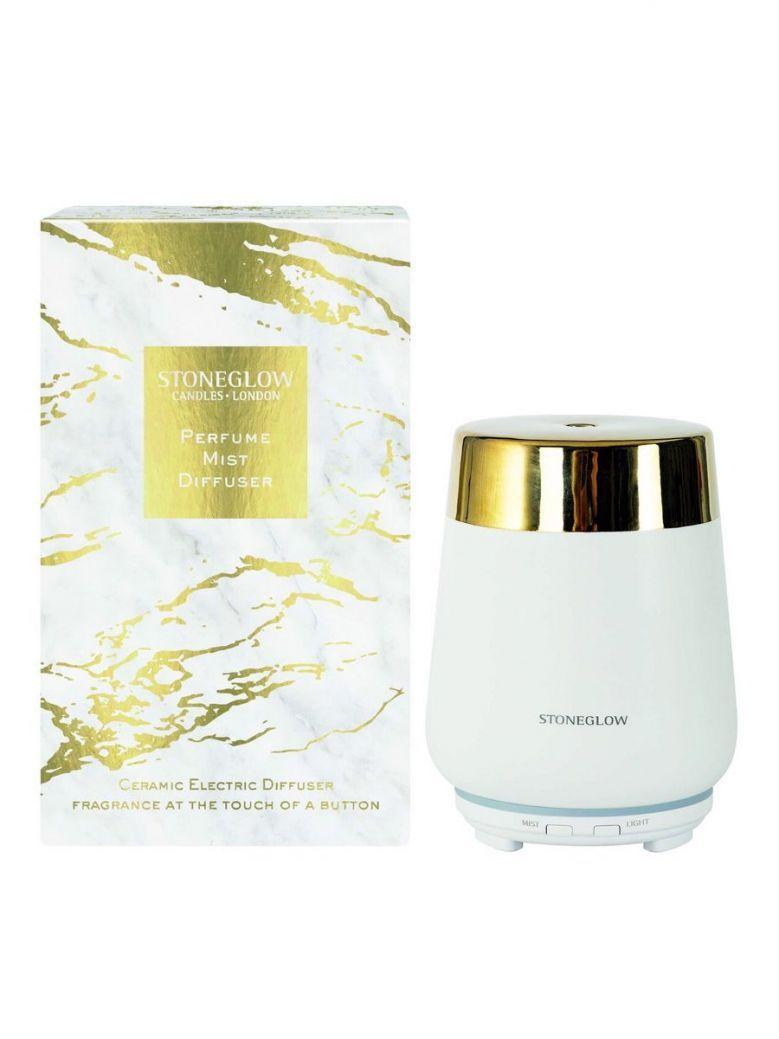Stoneglow Luna Perfume Mist Diffuser White