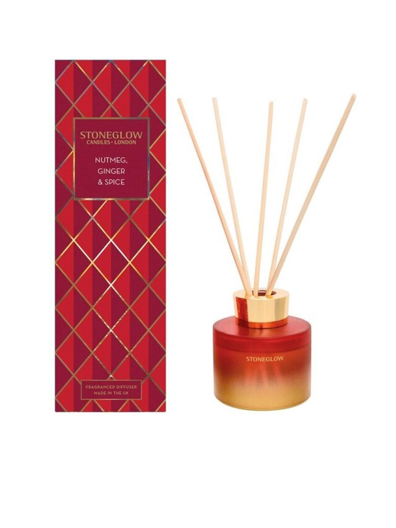 Stoneglow Nutmeg, Ginger and Spice Fragranced Diffuser