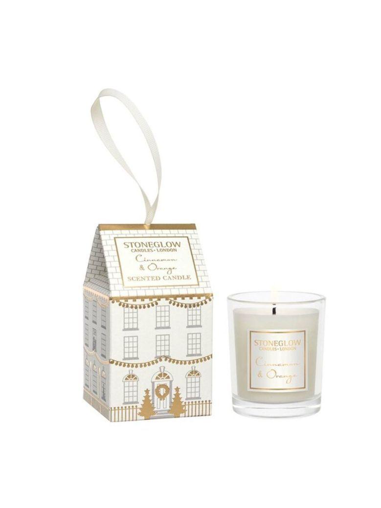 Stoneglow Cinnamon and Orange Seasonal Collection House Candle
