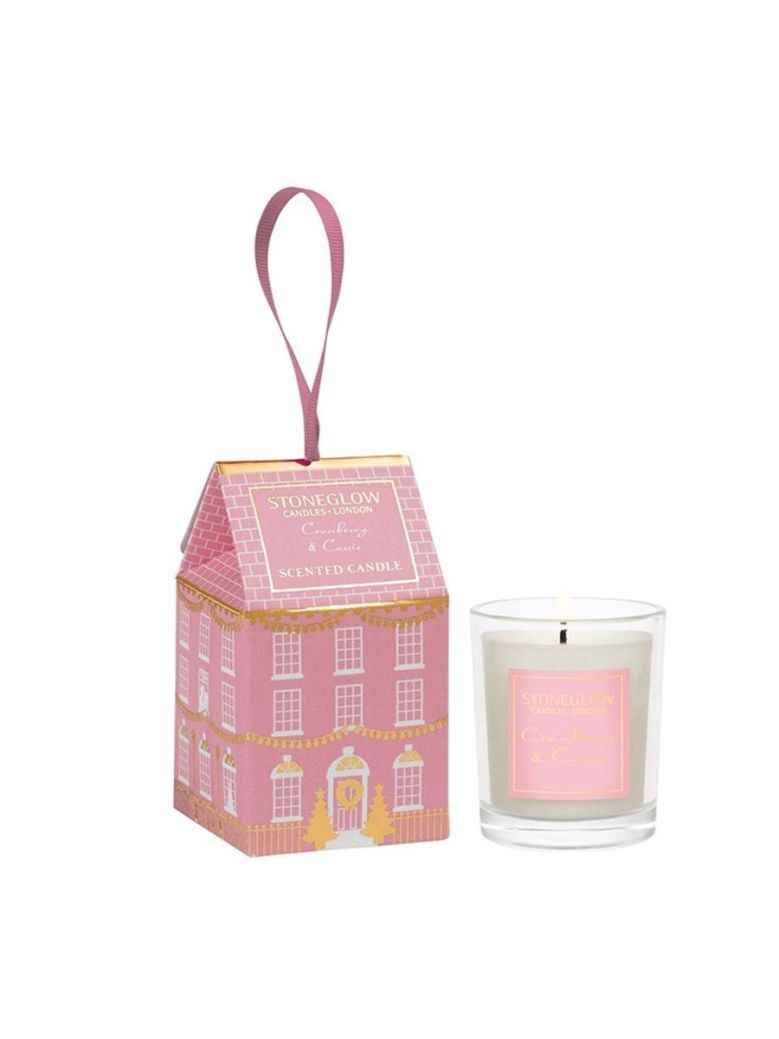 Stoneglow Cranberry and Cassis Seasonal Collection House Candle