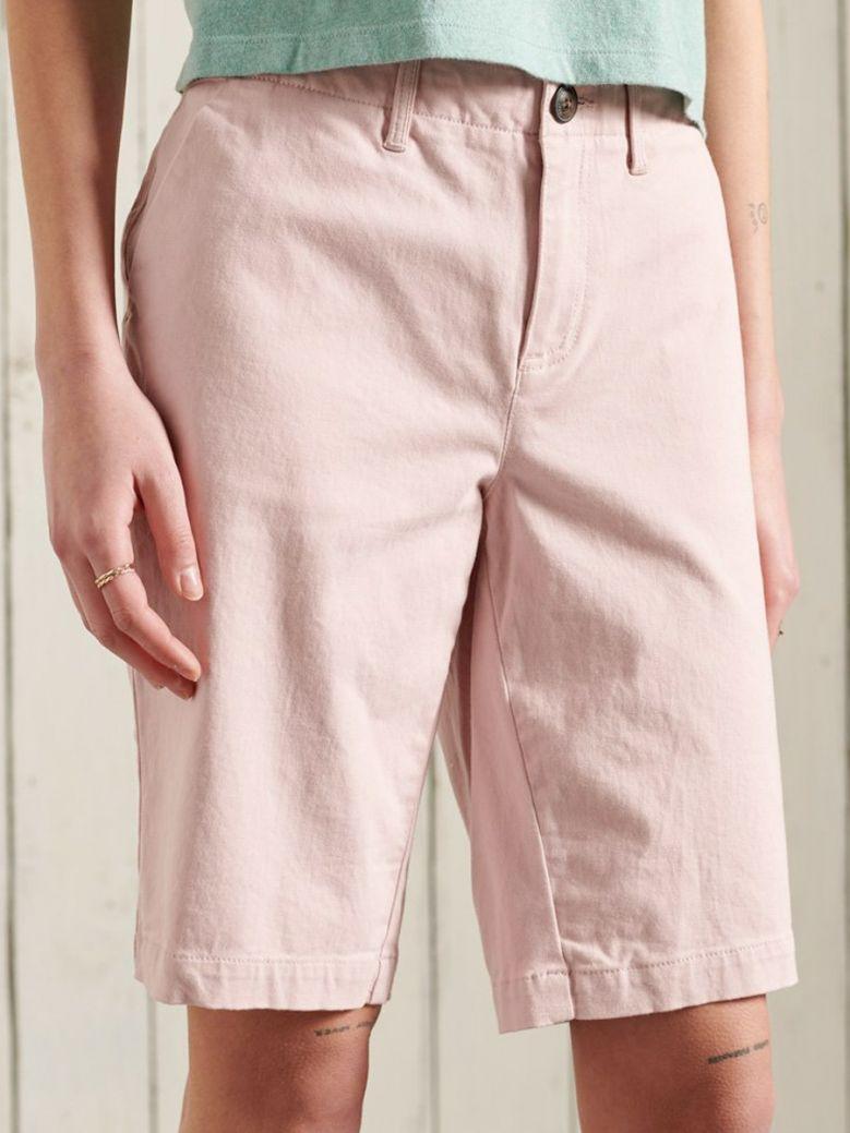 Superdry City Chino Shorts Pink