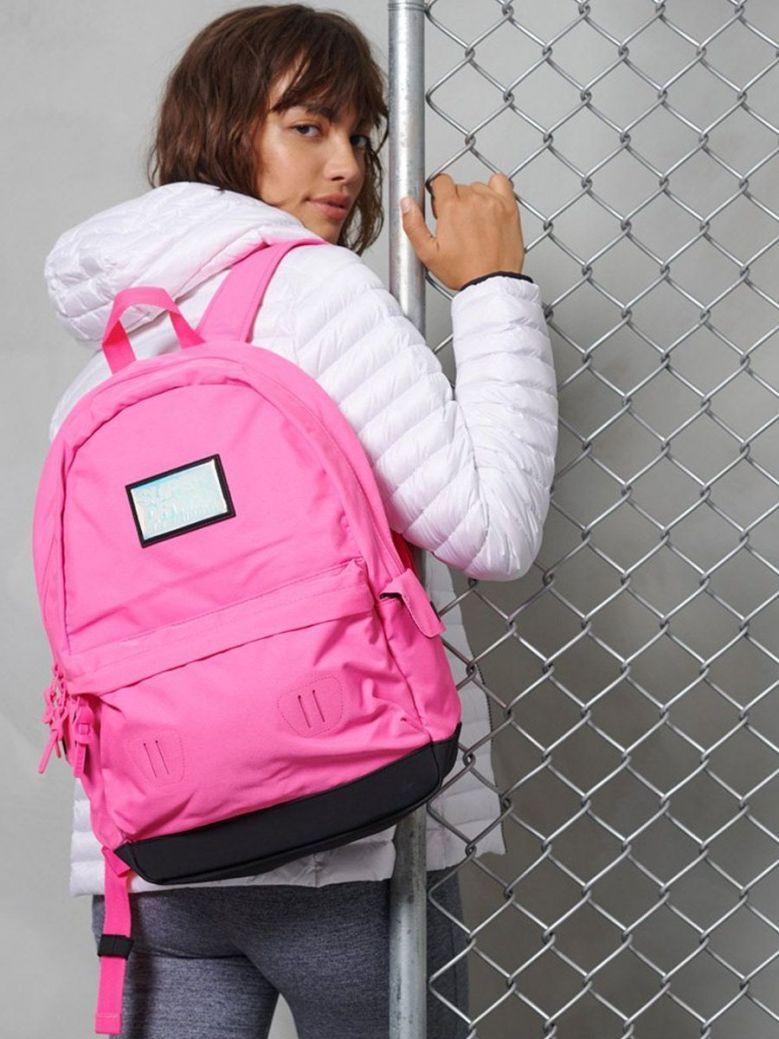 Superdry Cuba Montana Backpack Neon Pink