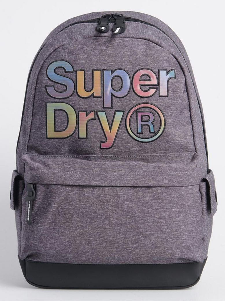 Superdry Rainbow Infill Montana Backpack Grey