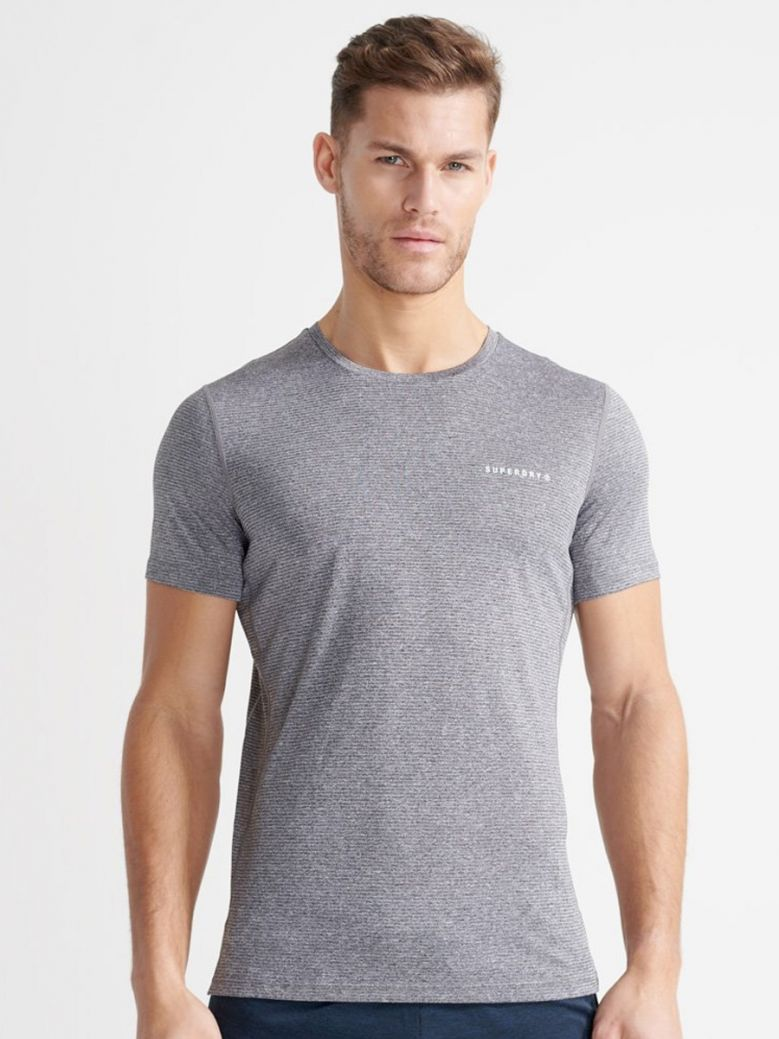 Superdry Training Active T-Shirt Grey