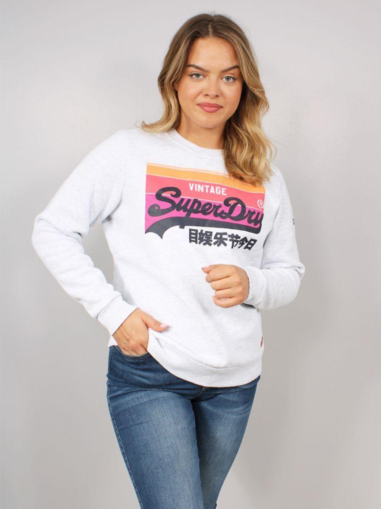 Superdry Vintage Logo Cali Sweatshirt Grey