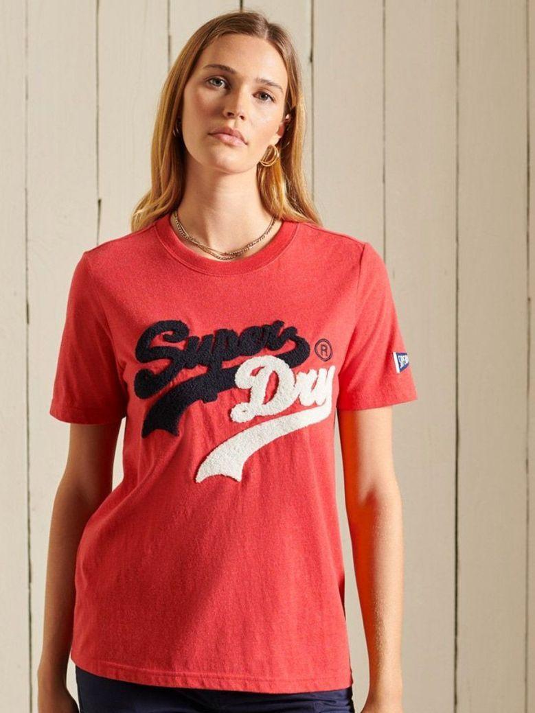 Superdry Vintage Logo Source T-Shirt Red