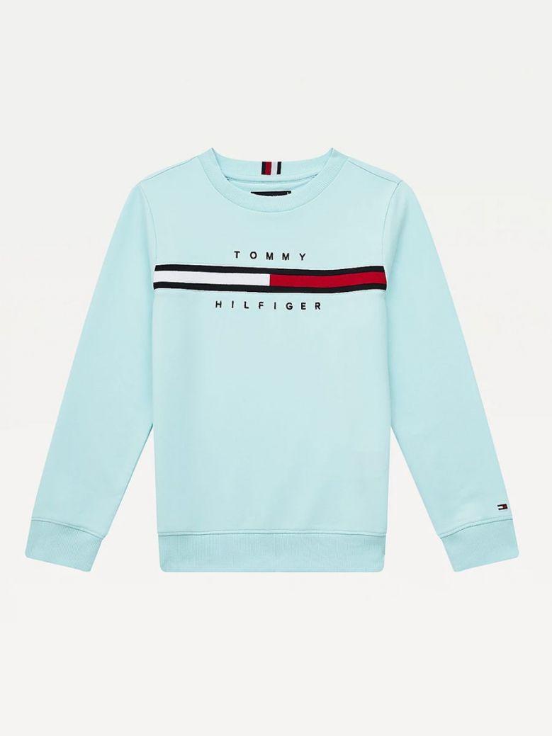 Tommy Hilfiger Cool Logo Sweatshirt Blue
