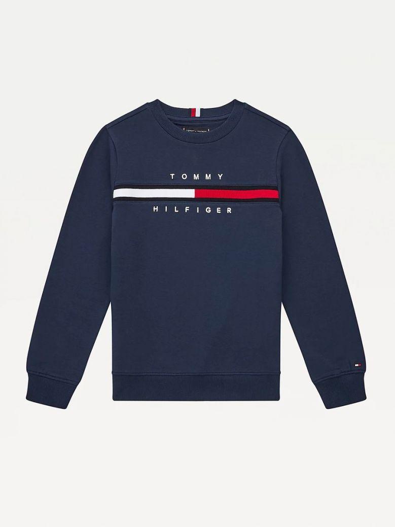 Tommy Hilfiger Cool Logo Sweatshirt Navy