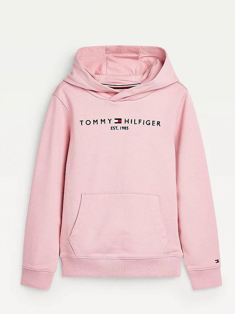 Tommy Hilfiger Essential Logo Hoodie Pink