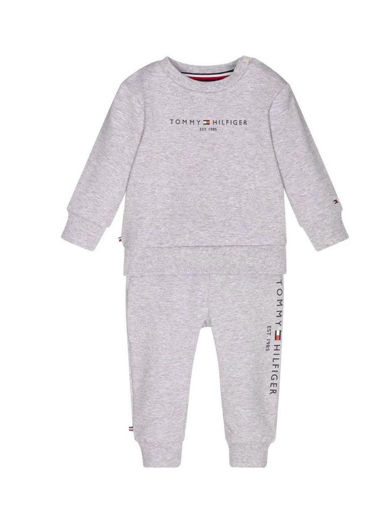Tommy Hilfiger Essential Organic Cotton Joggers Set Grey