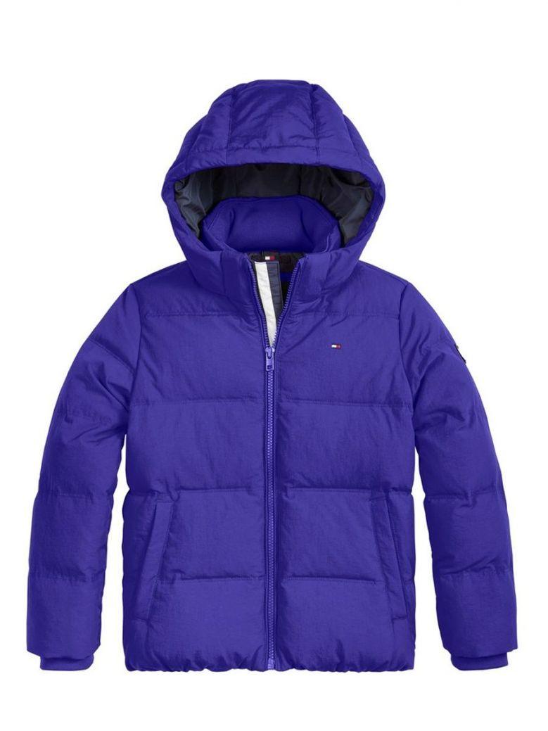 Tommy Hilfiger Essential Padded Coat Blue