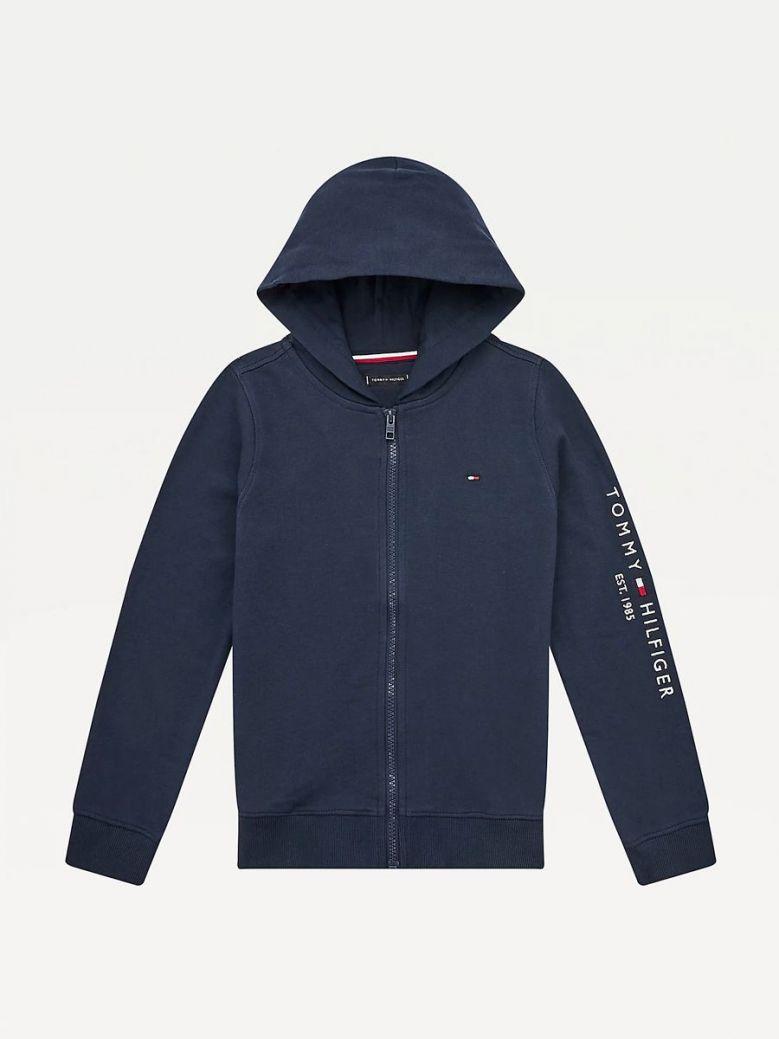 Tommy Hilfiger Essential Sleeve Logo Hoody Navy
