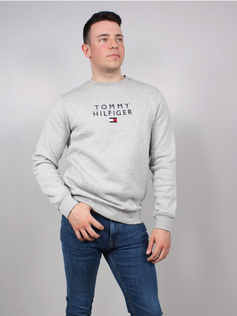Tommy Hilfiger Flex Fleece Sweatshirt Grey