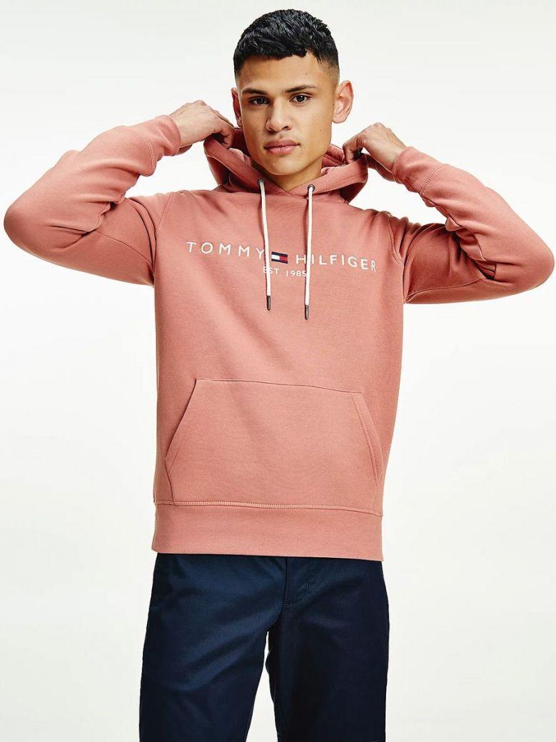 Tommy Hilfiger Flex Logo Hoody Pink