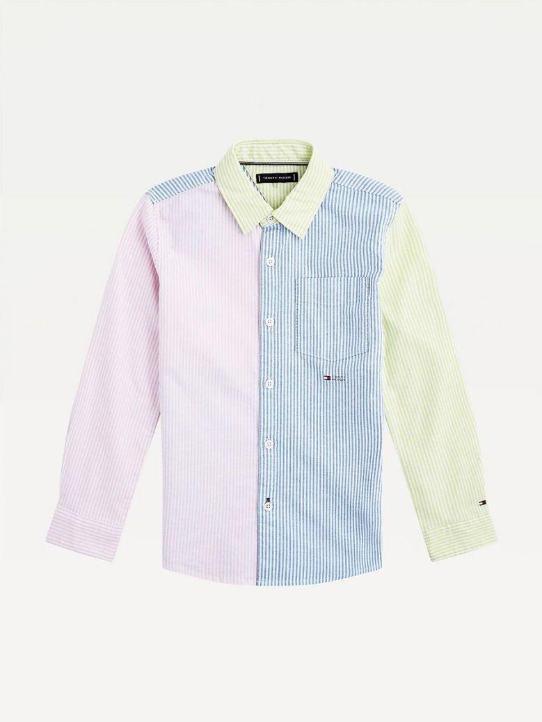 Tommy Hilfiger Ithaca Stripe Stretch Shirt Multi-Coloured